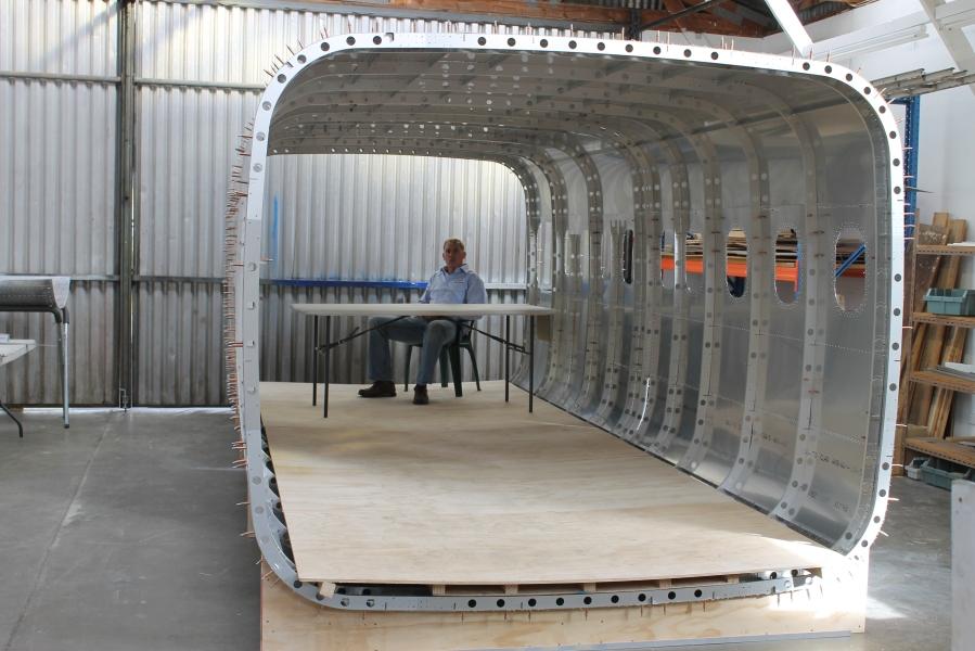 Fuselage Interior.