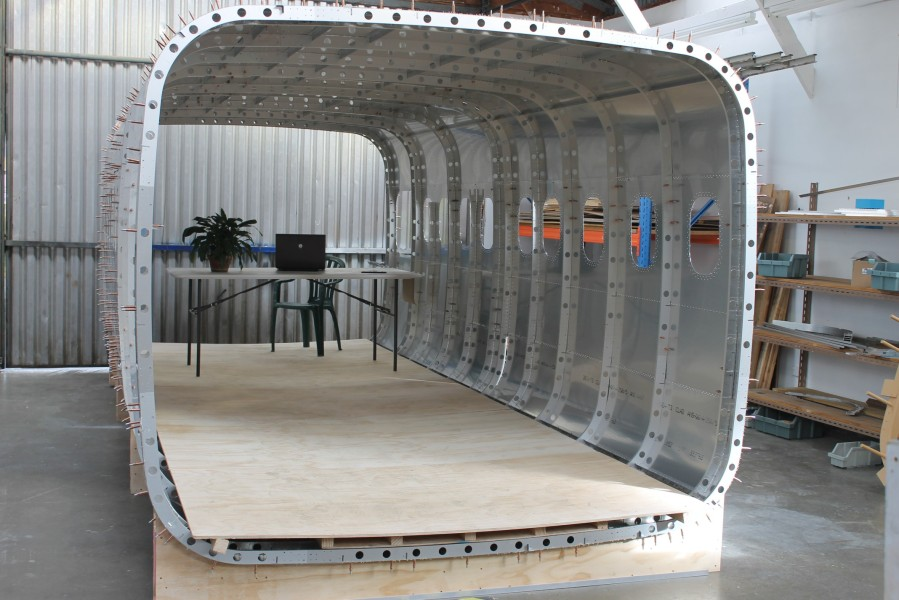 Long view of fuselage