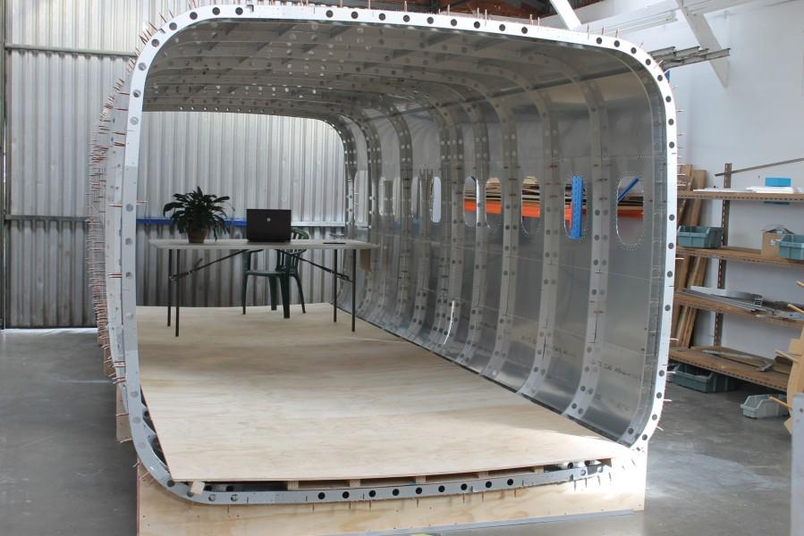 Long view of fuselage